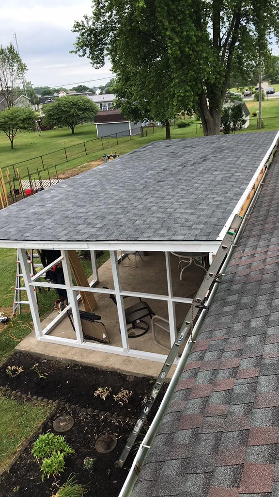 Roof Replacement Patio Roof Installation In Ashville Oh