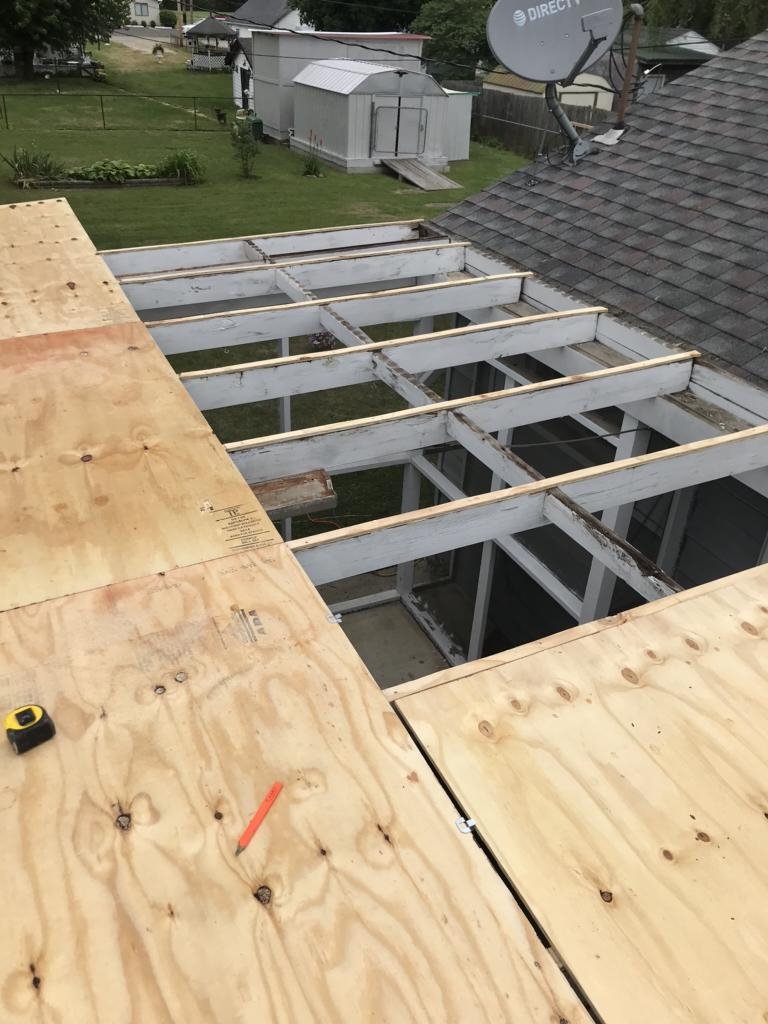 Installing New Decking for a Roof