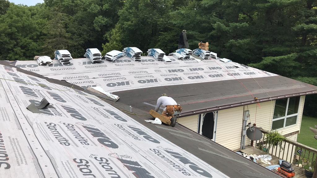 Ice and Water Shield Roof Install