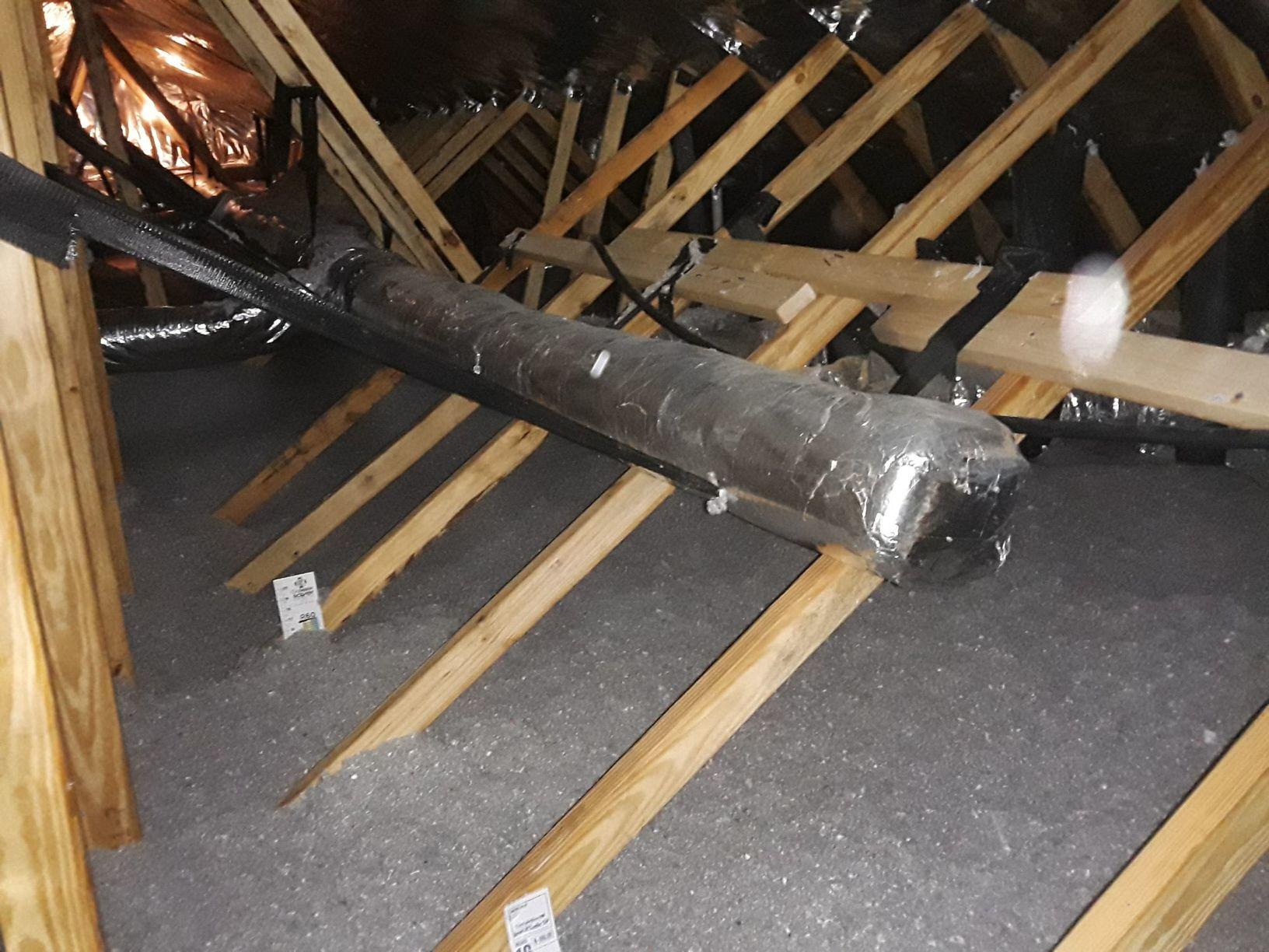 Attic Insulation in Fork, SC