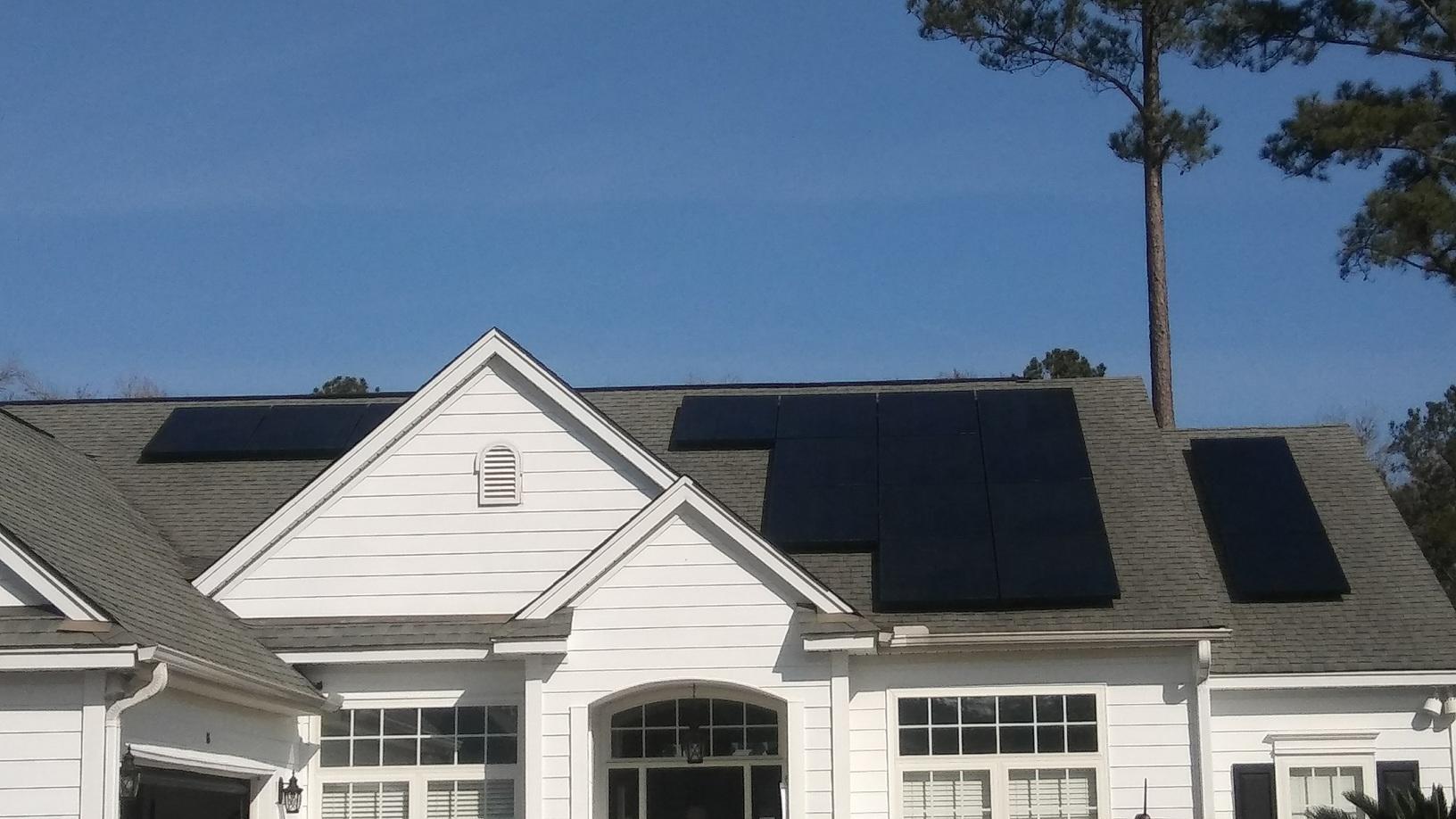 Bluffton Solar Panels!