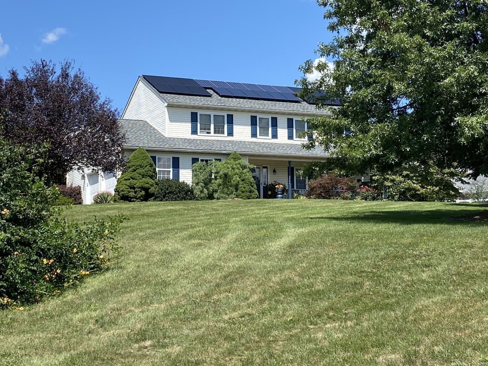Brenda's solar installation done in Mohrsville, PA