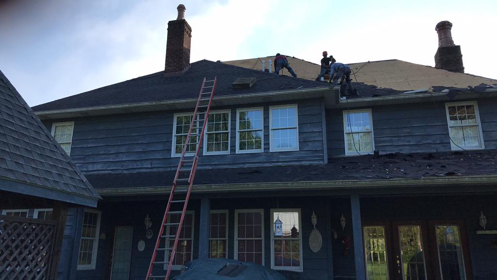 Removing the Old Shingles in Logan, OH