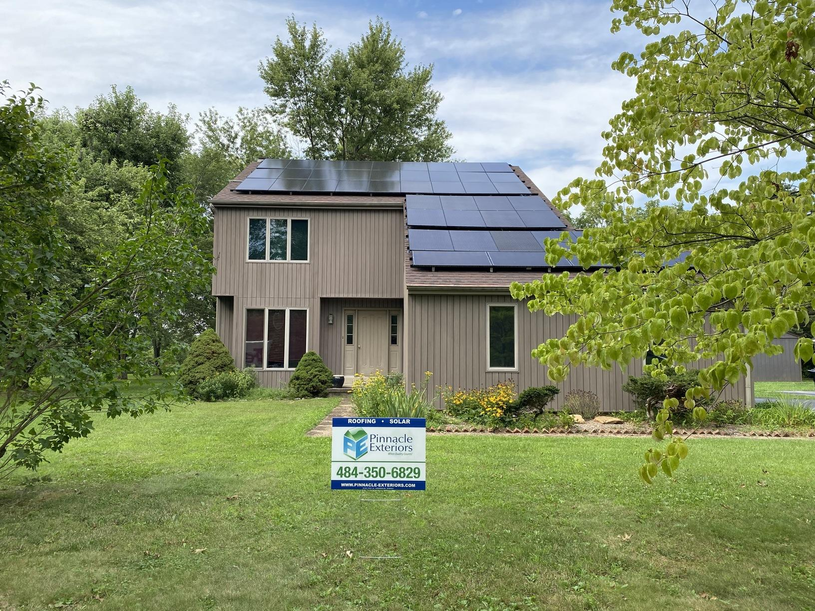Don's solar installation done in Royersford, PA