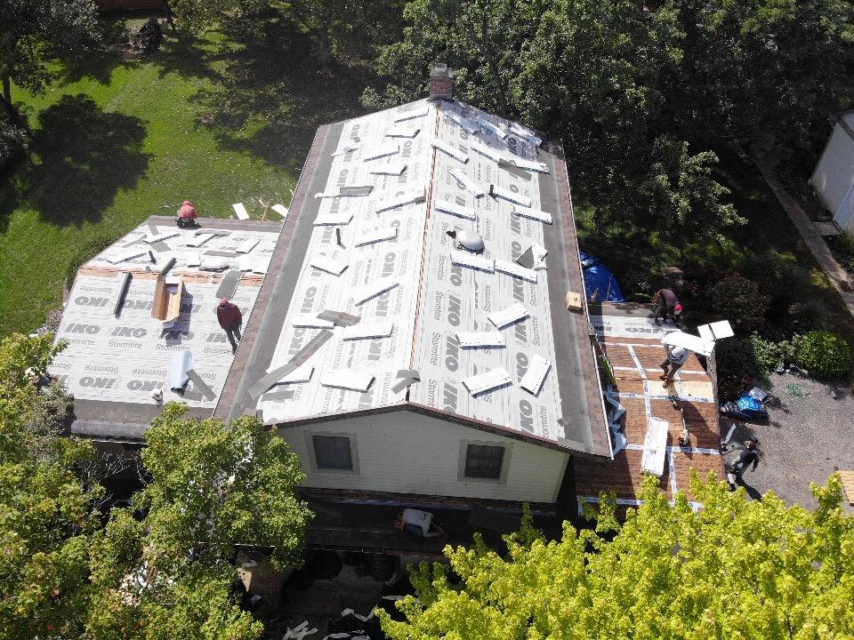 Installing New Shingles in Orient, OH