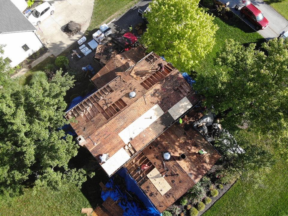Replacing the Roof Decking in Orient, OH