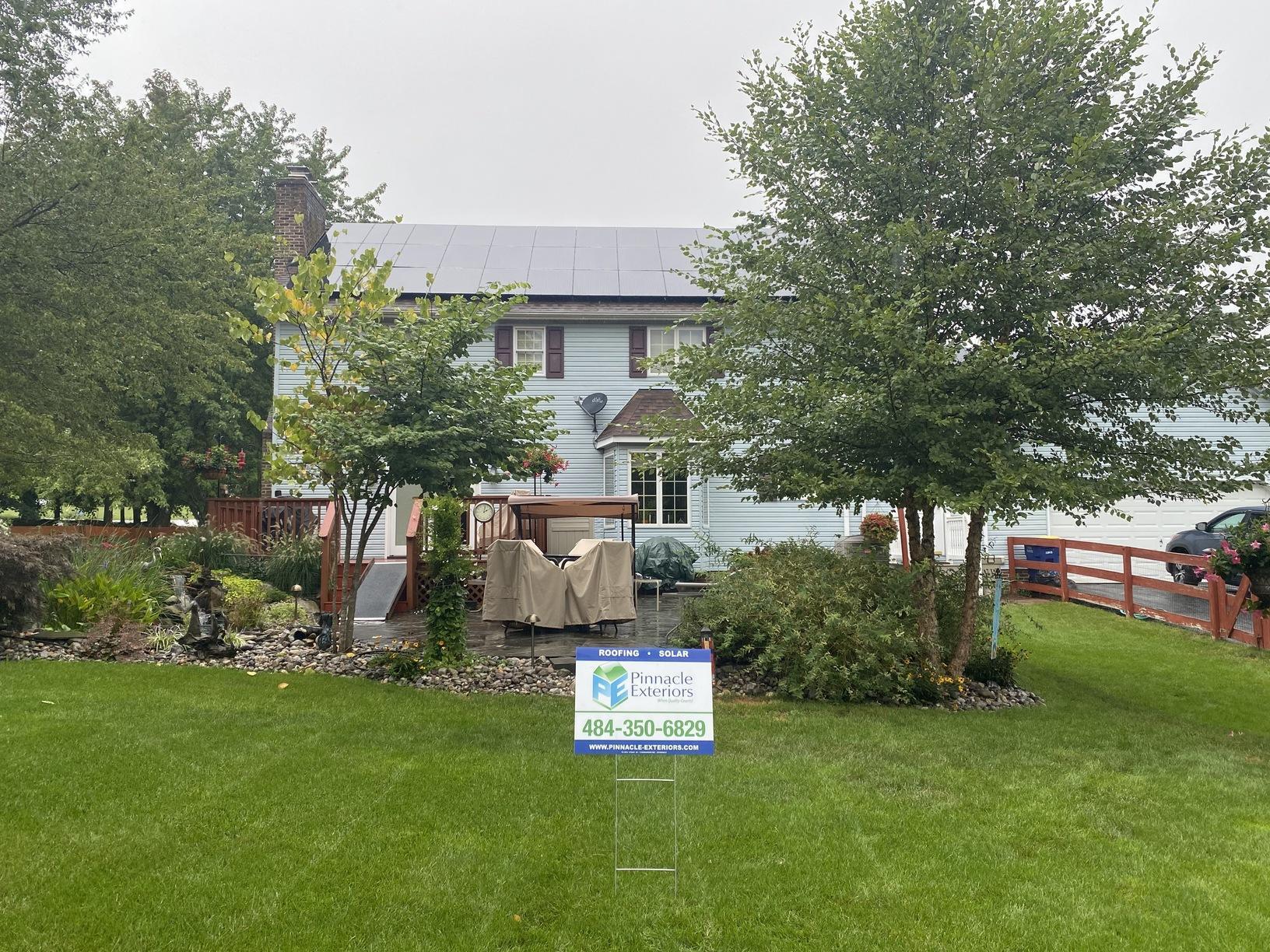 Ed's solar installion done in Glen Rock, PA