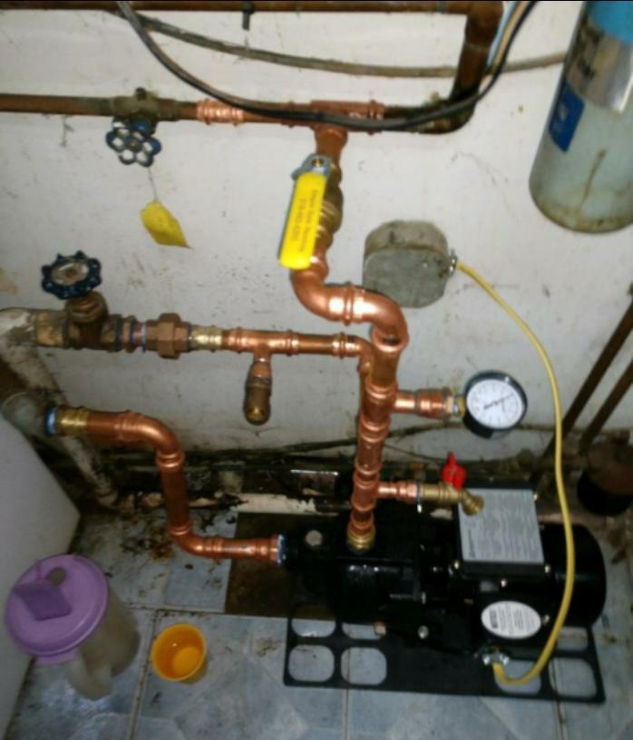 Jet pump installation