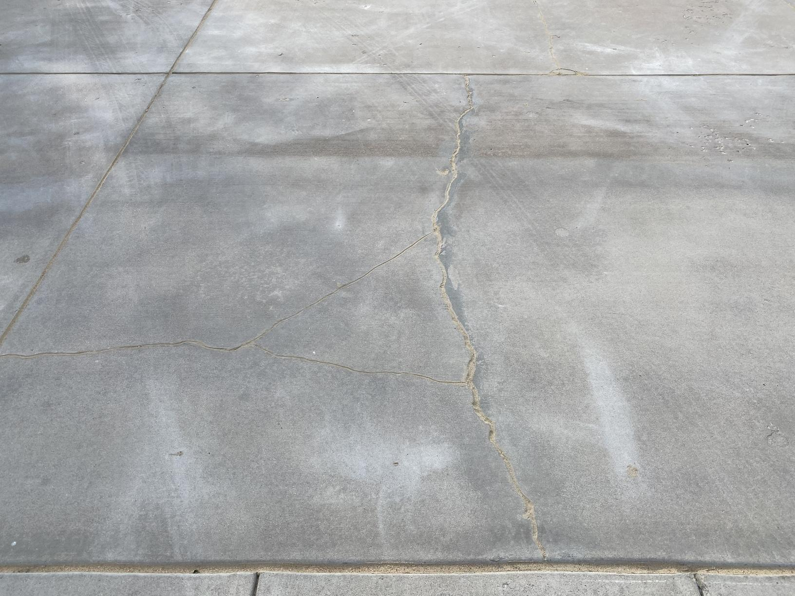 Cracked Concrete Repair