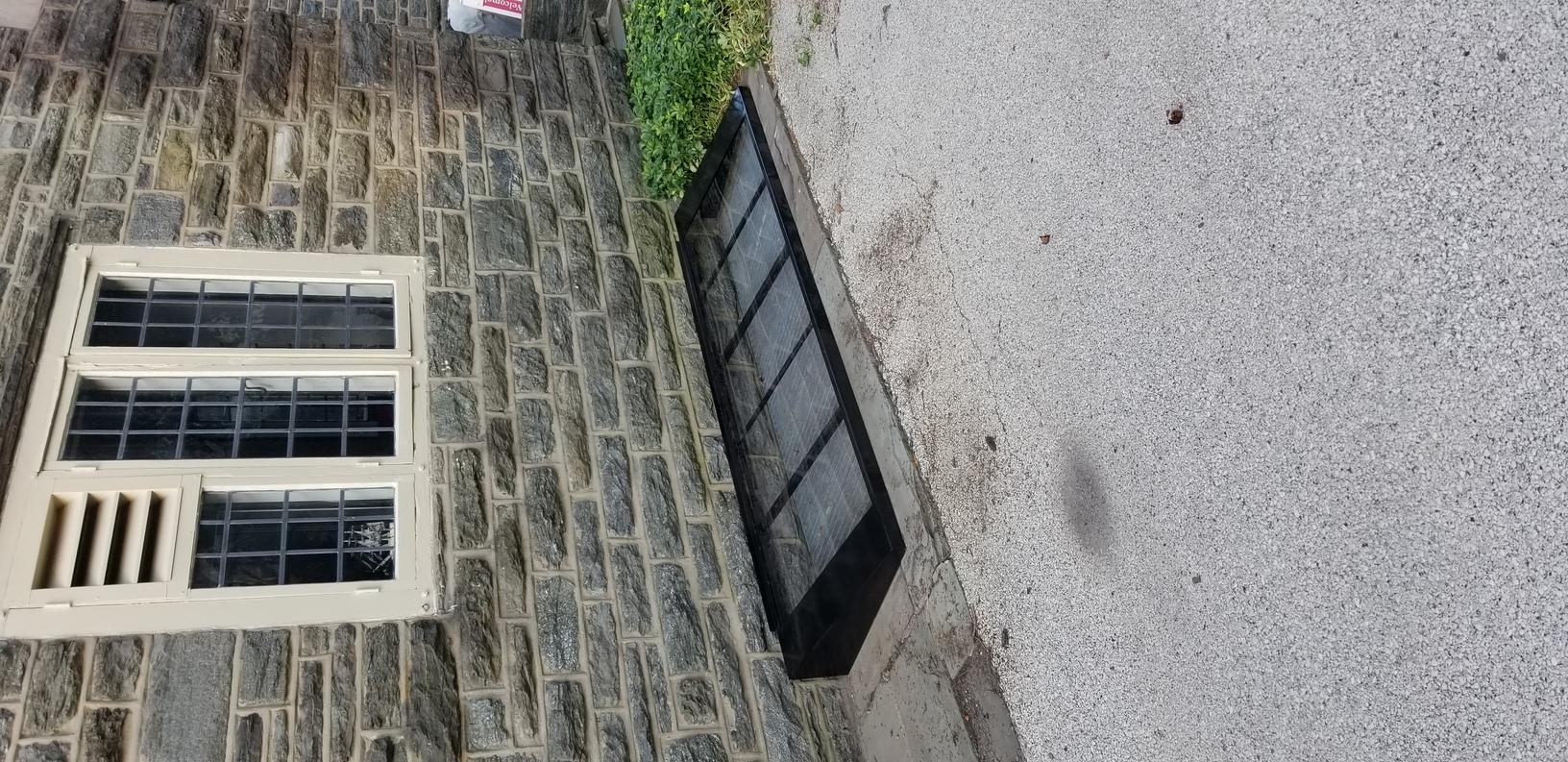Window Well Cover installed in Philadelphia, PA