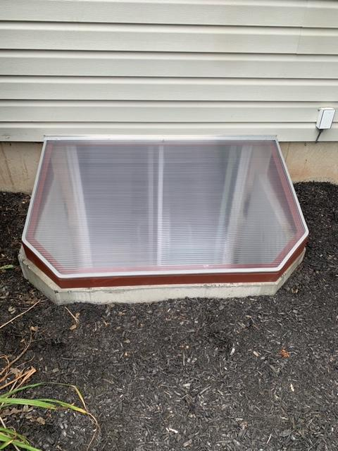 Window Well Cover installed in Phoenixville, PA