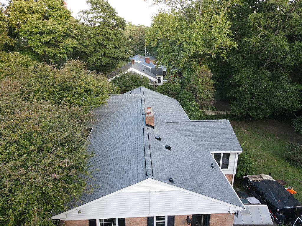 Newly Installed Shingle Roof