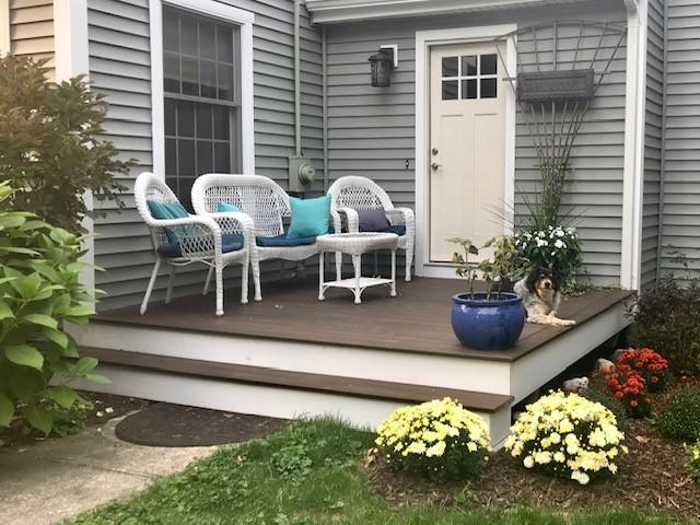 Charming New Deck, Southbury