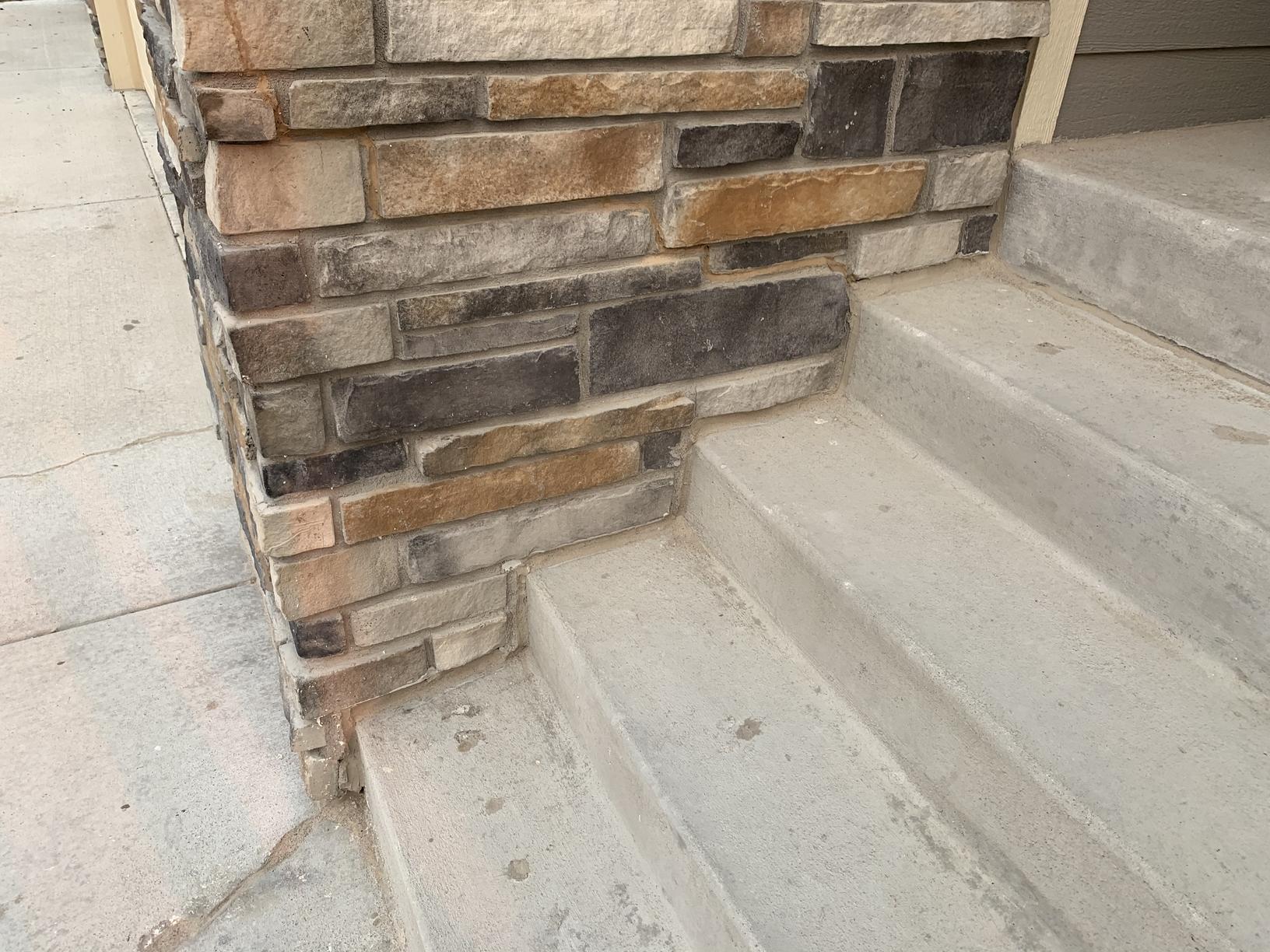 After NexusPro Sealant on fallen brick