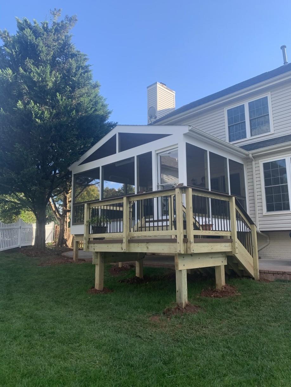 Porch Design and Installaiton in Ashburn, VA