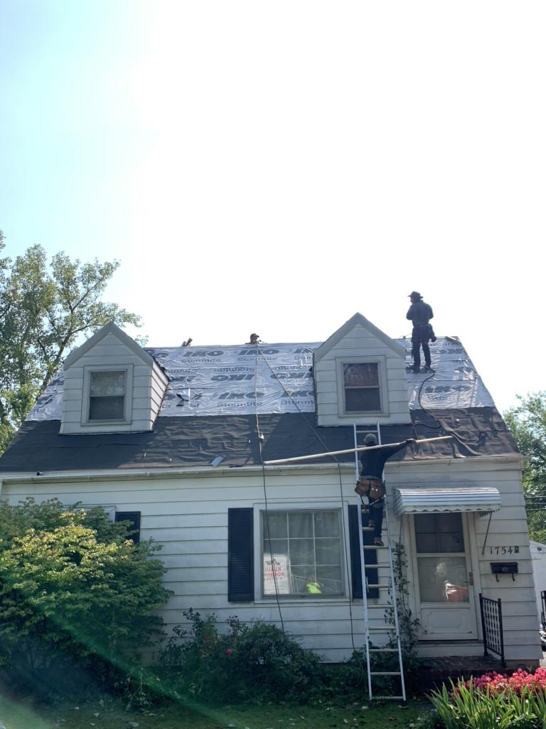 Ice & Water Shield Install in Columbus