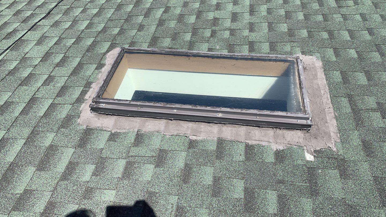 Leaky skylight repair in Burbank, IL