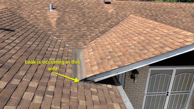 Roof leak in Homer Glen, IL