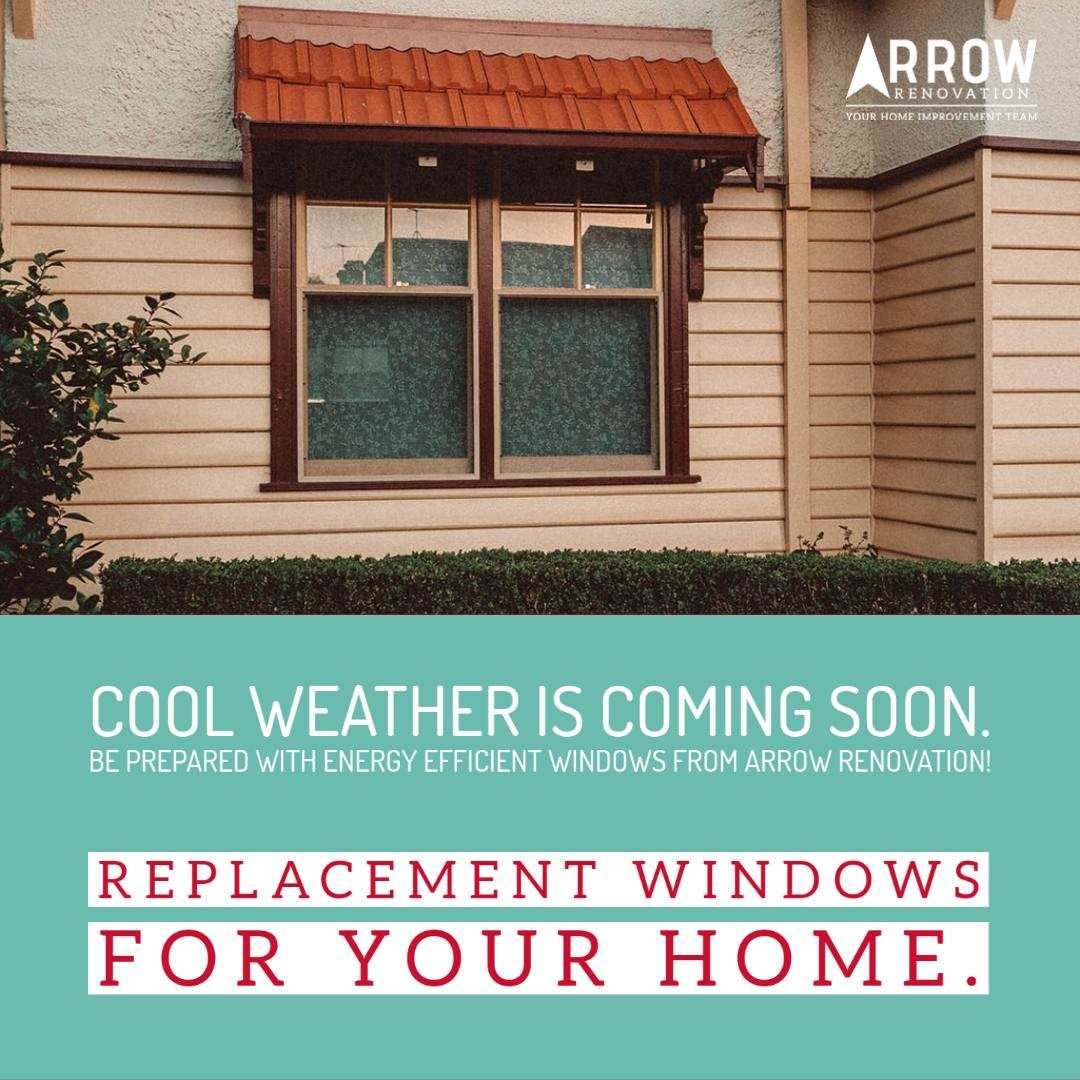 Energy Efficient Windows from Arrow Renovation