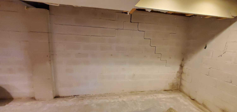 Stair Step Cracking