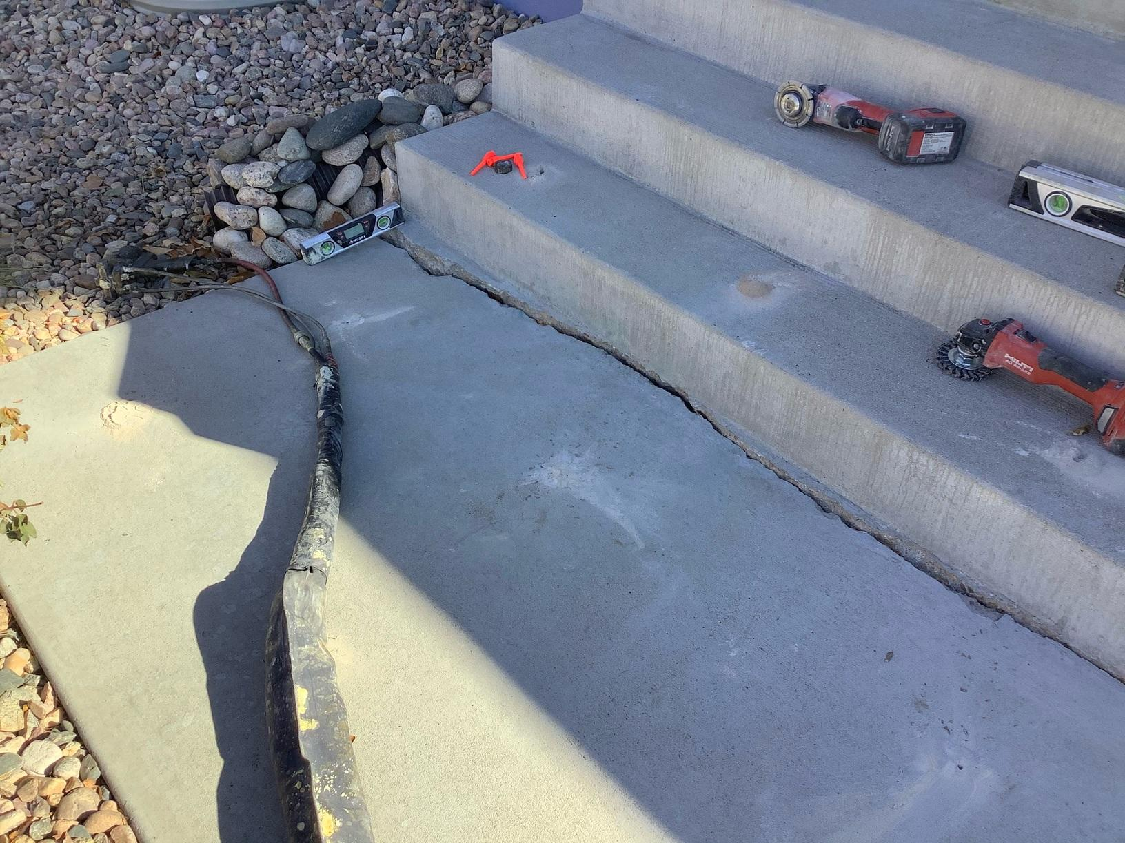 Falling steps