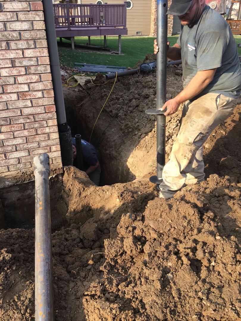 Foundation Repair During Installation