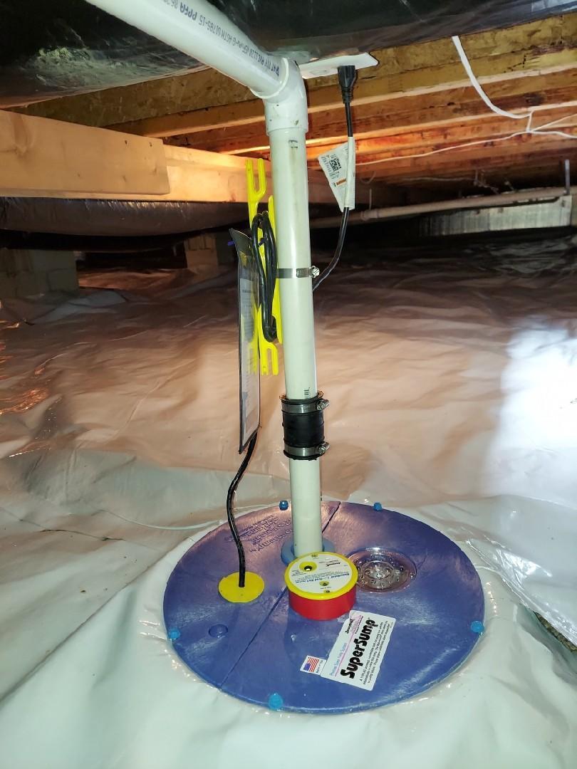 Crawl Space Sump Pump