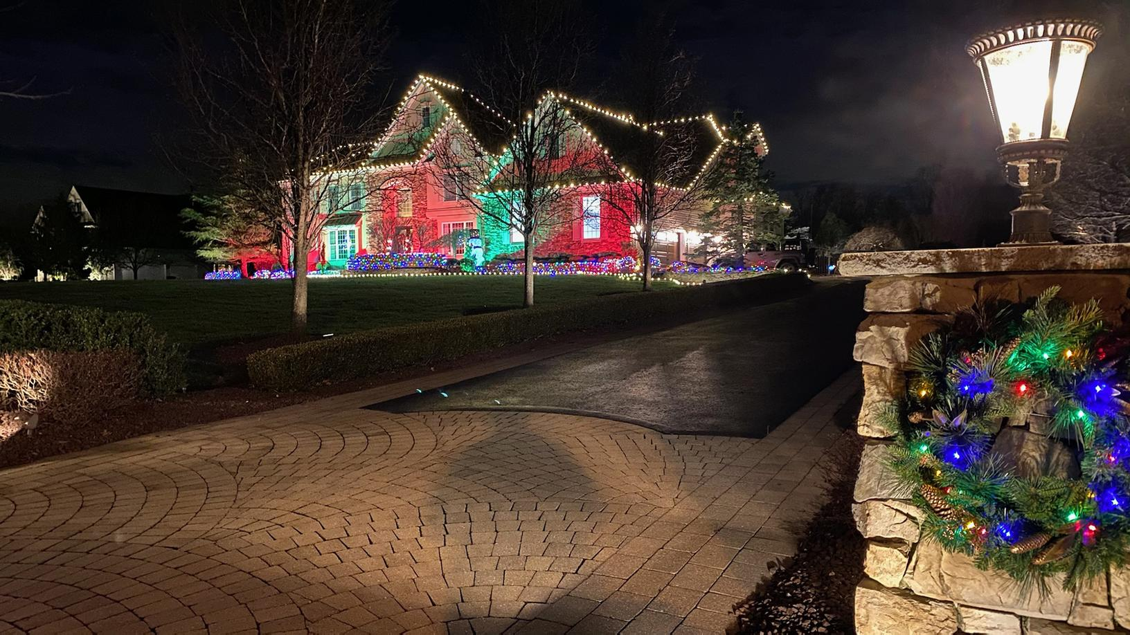 View from the Driveway