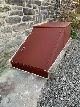 Adding an Angle cellar door in Narberth, PA