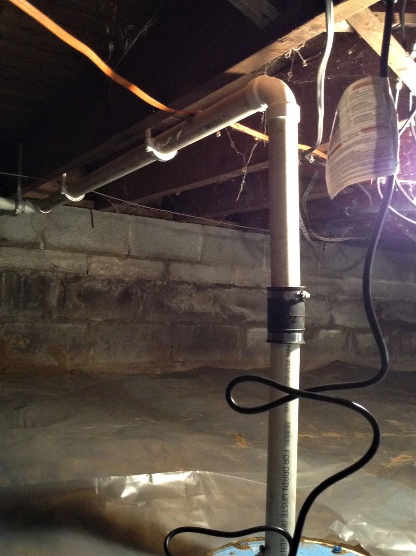 Crawl Space Sump Pump Installed in Temperance, MI