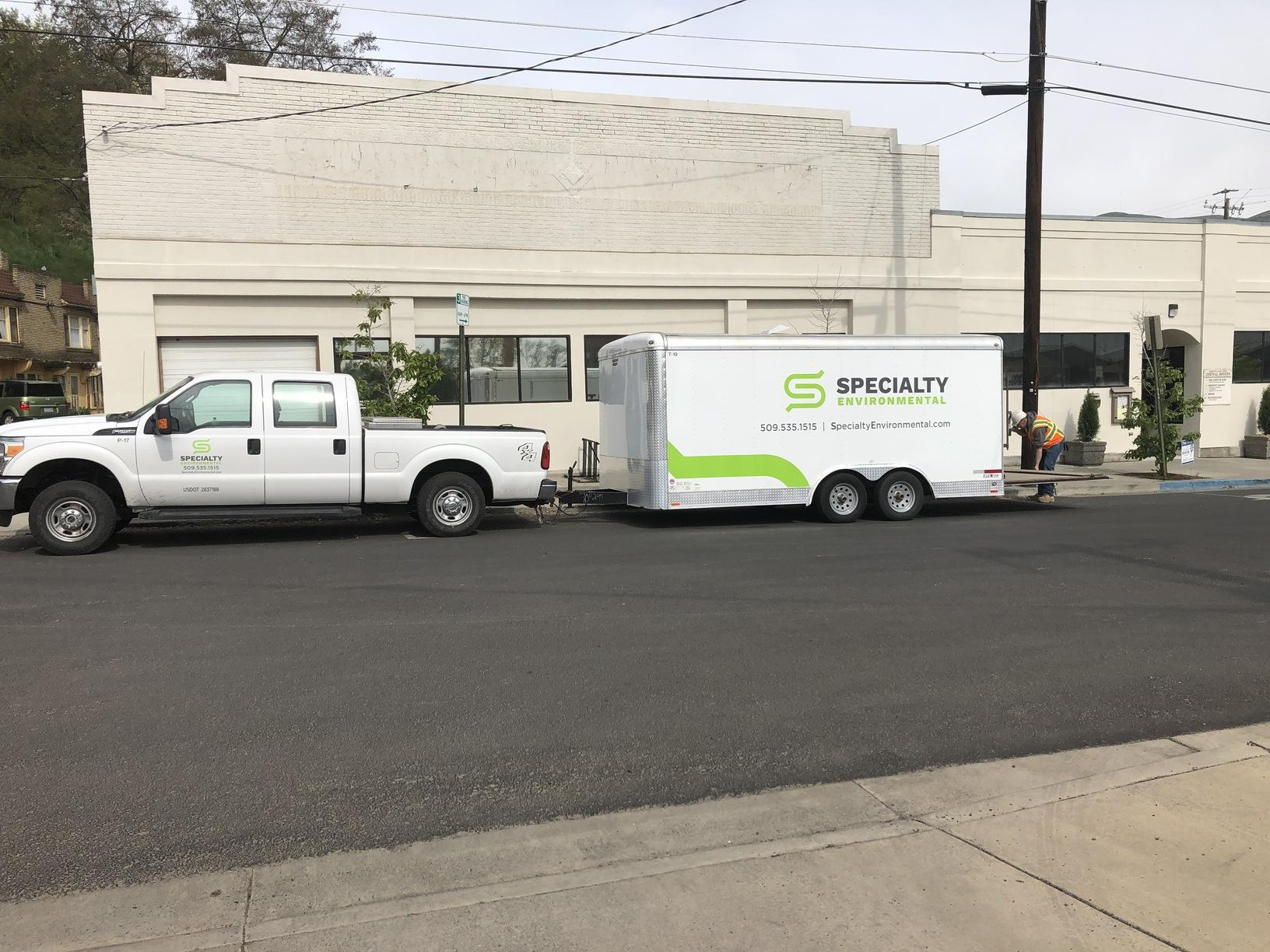 Specialty Environmental Truck and Trailer