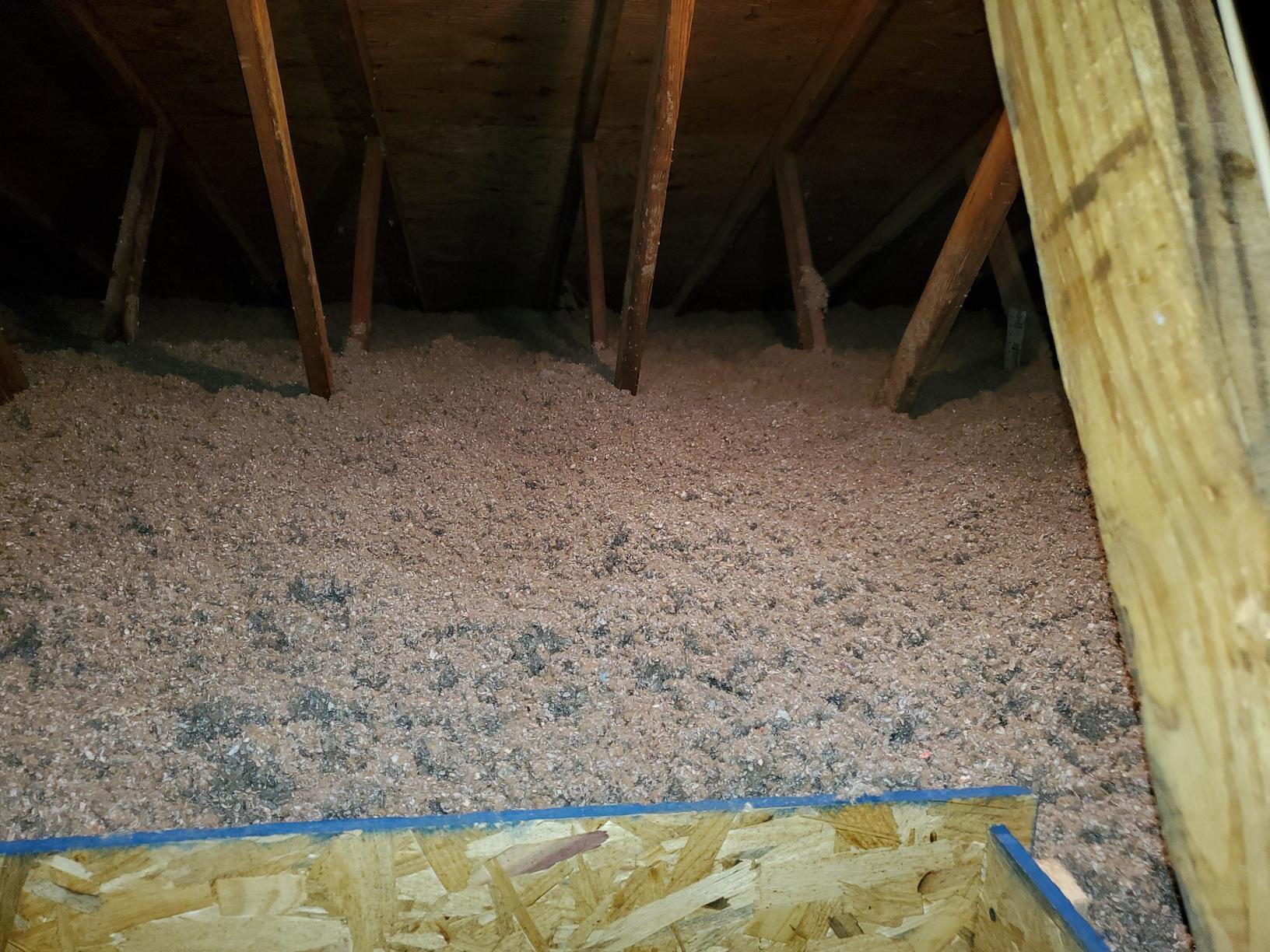 Cellulose Insulation Installation