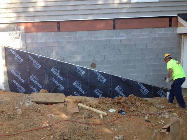 Waterproofing in Midlothian, VA