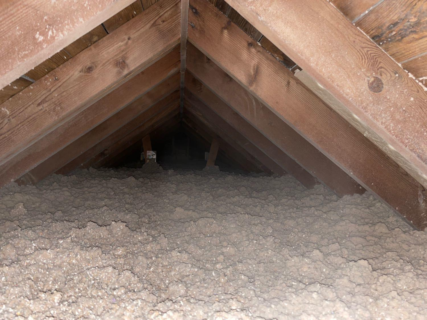Topping off attic with more insulation