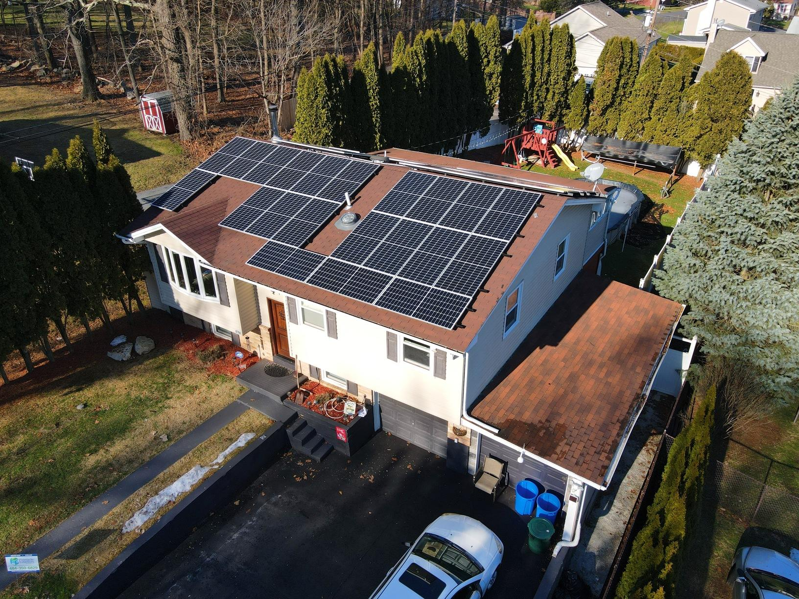 Mark's Solar Installation Done in Bethlehem, Pa