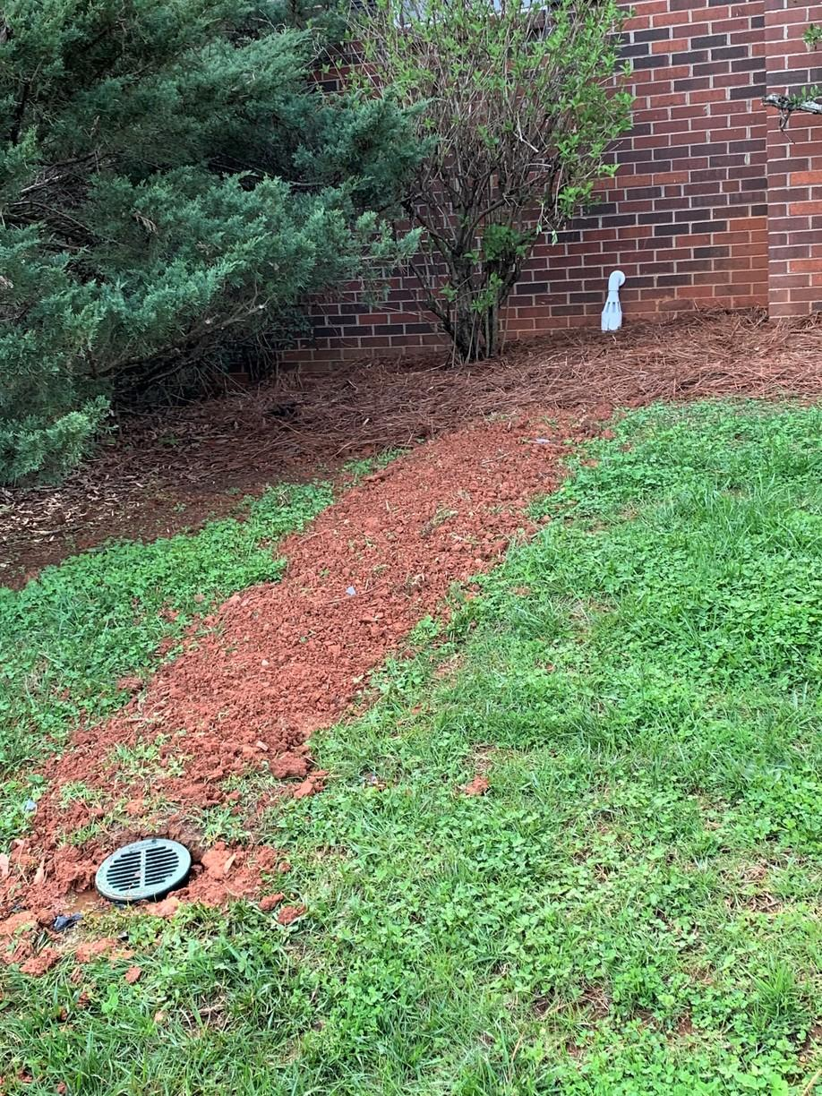 French Drain System Discharge