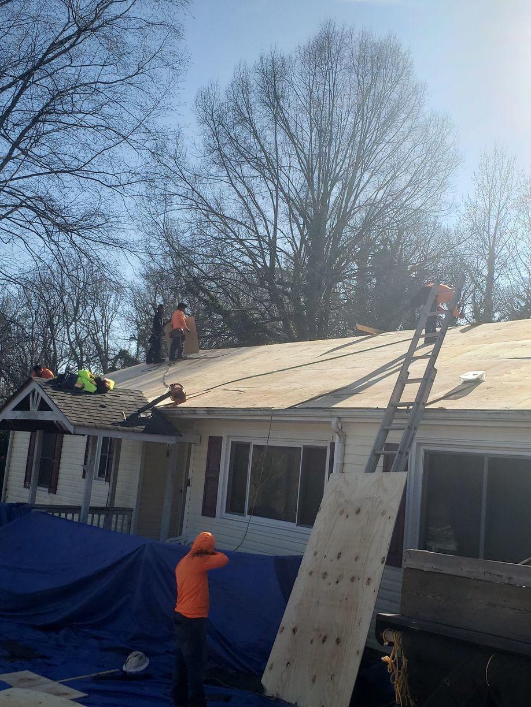 Repairing the Existing Deck