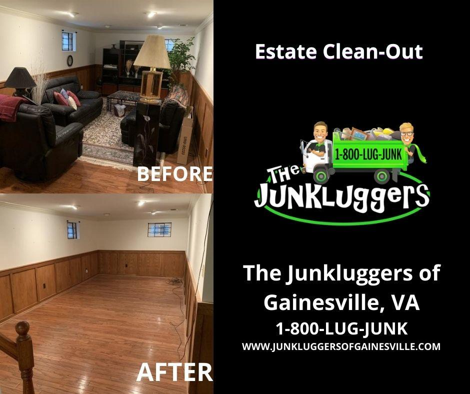 Estate Cleanout Before & After!