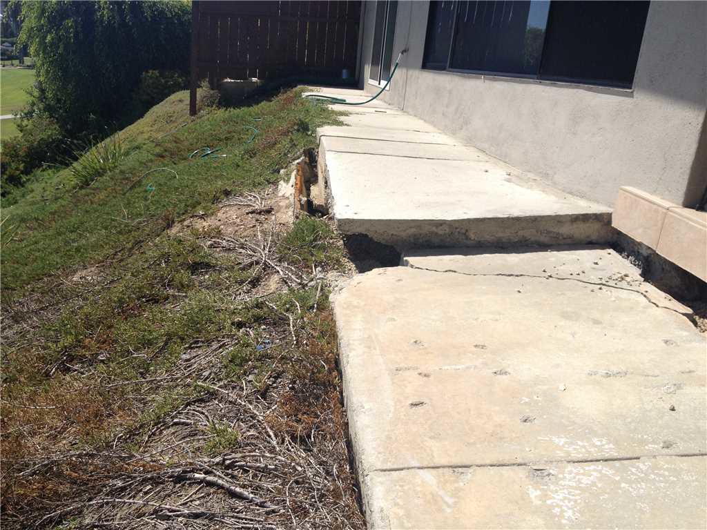 Sidewalks Sinking?