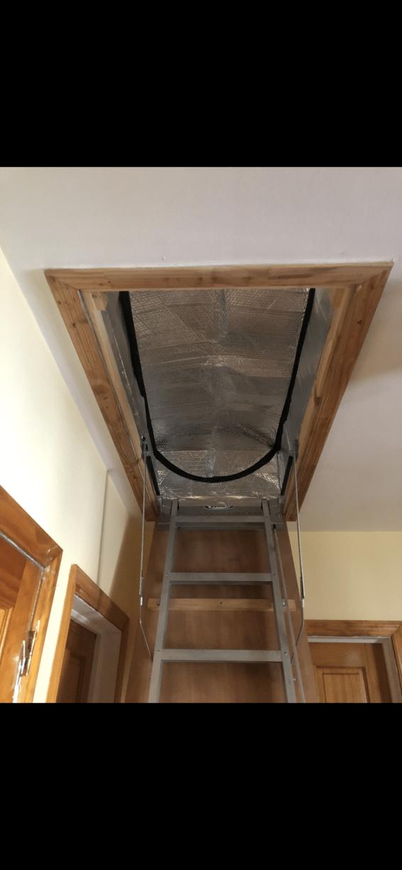 Insulated Attic Hatch- Flushing, NY
