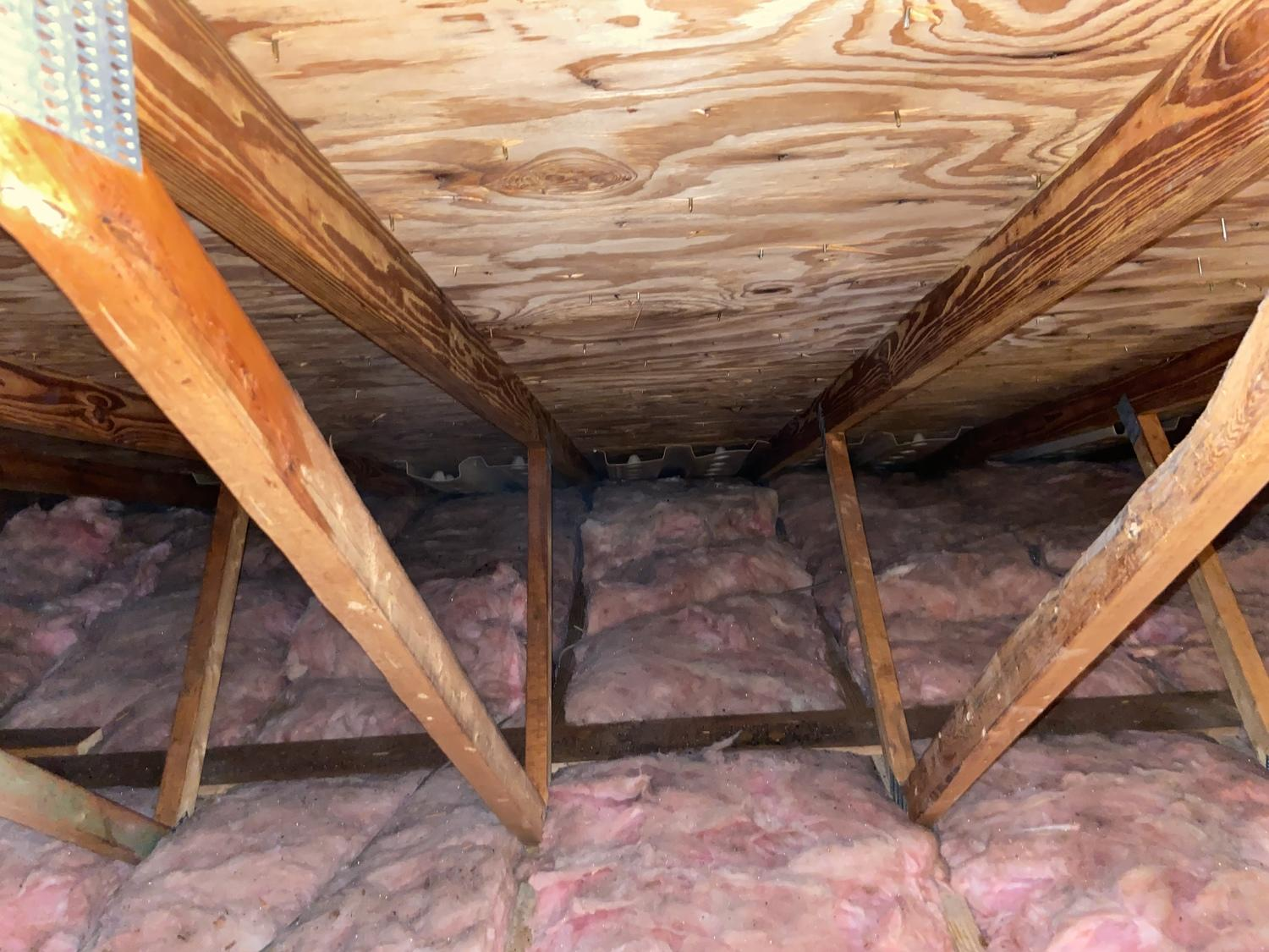 Remediation of mold and new baffles