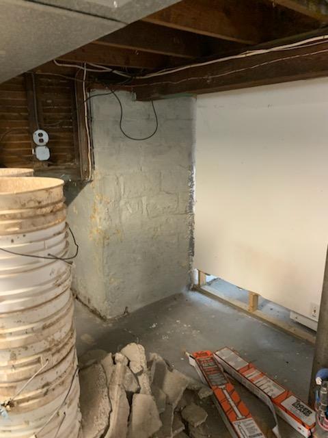 Ugly Basement Walls