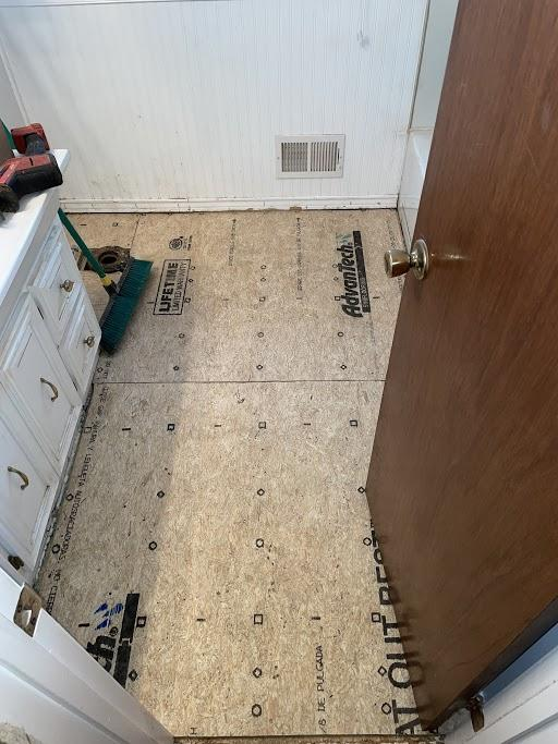 Subfloor Repair by Cantey Foundation Specialists