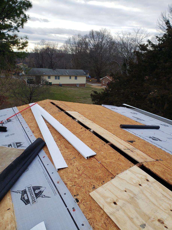 Roof Decking Repair