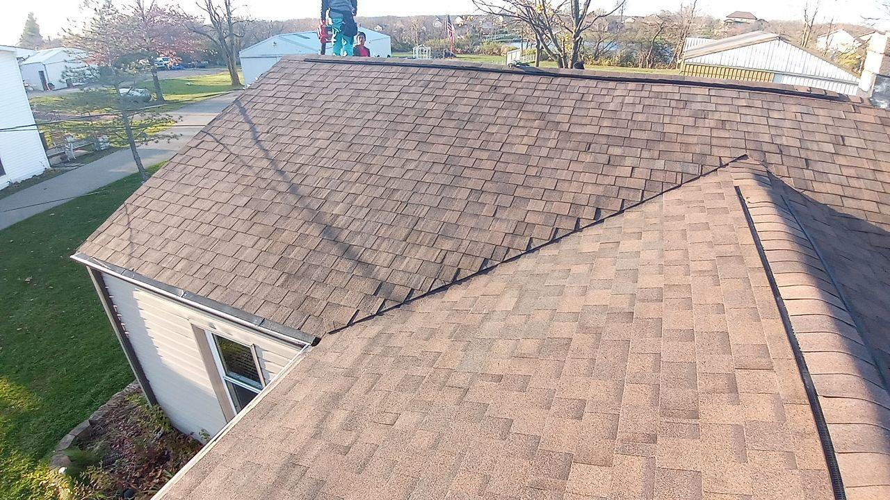 Completed Roof System