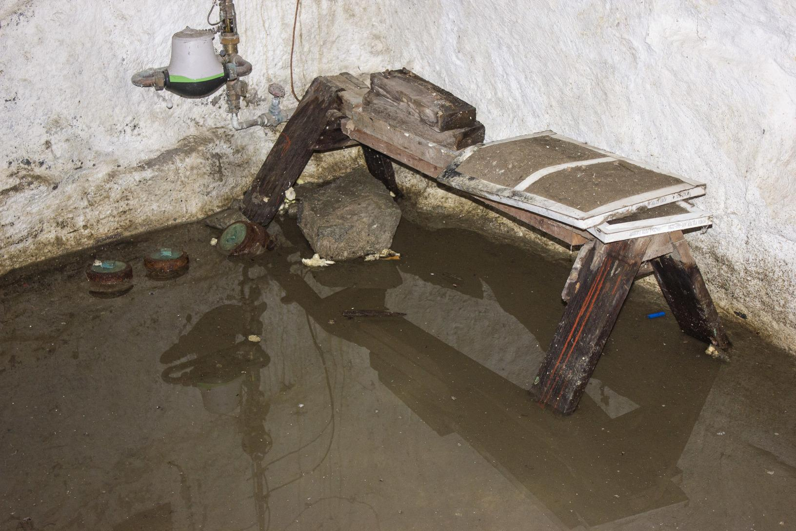 Basement Flooding in Barre, Vermont.