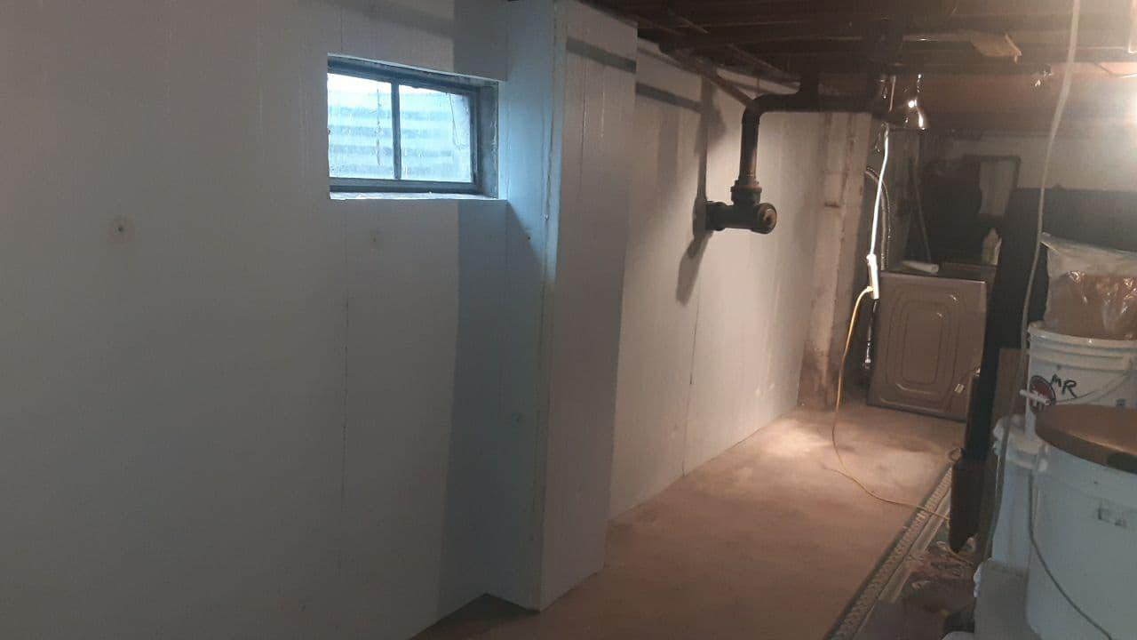 Foamax Board along Foundation Walls