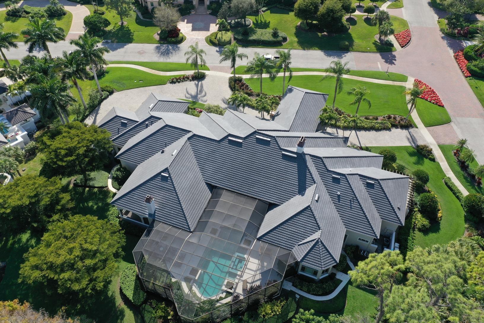 Concrete Tile Re-Roof Naples, FL