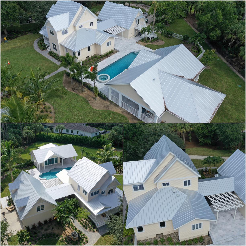 5V Metal Re-Roof Naples, FL