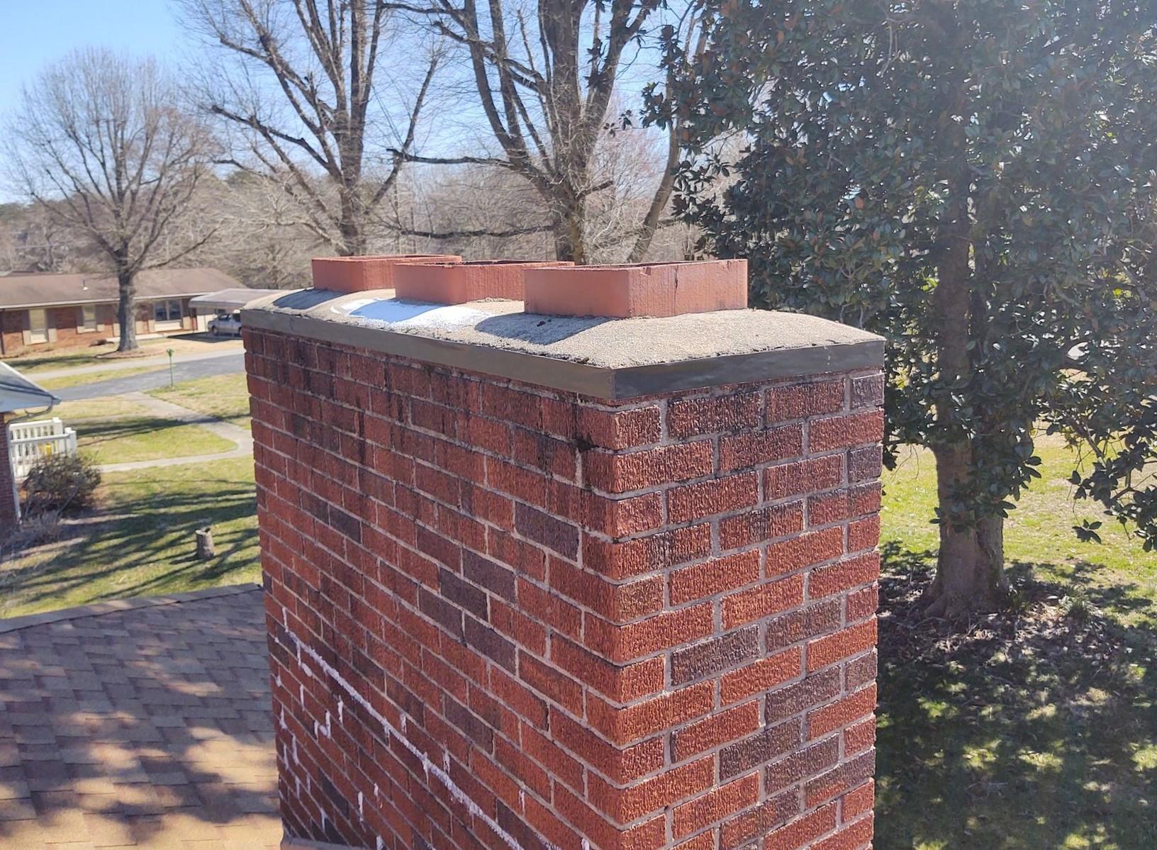Unsealed Chimney
